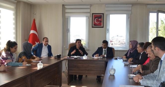 ASP Bakanlığı Çocuk Hakları Daire Başkanı Güvenç, Erzurum'da
