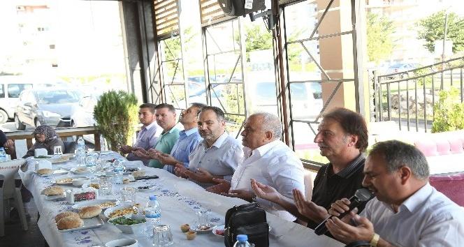 Başkan tollu, din görevlileriyle buluştu
