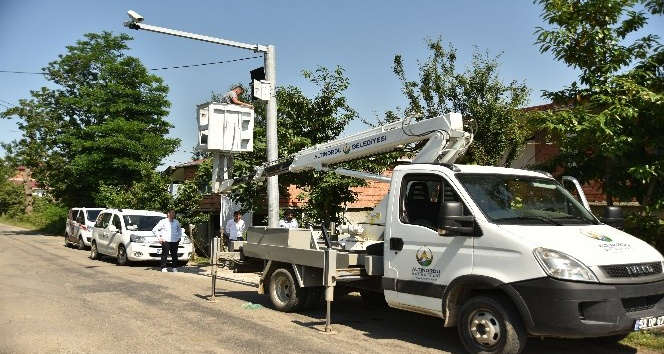 Altınordu'da mahallelere güvenlik sistemi