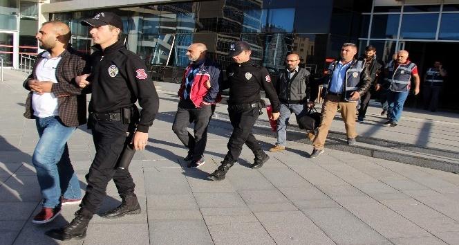 Kayseri'de aranan şahıslara operasyon: 25 gözaltı