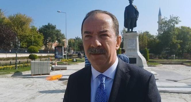 Atatürk Anıtı çevresinde zemin düzenlemeleri