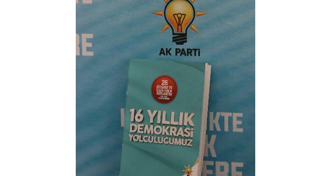 AK Parti 26. İstişare ve Değerlendirme Kampına özel kitapçık