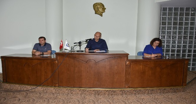 Nazilli Belediye Meclisi Ekim ayı olağan toplantısı yapıldı