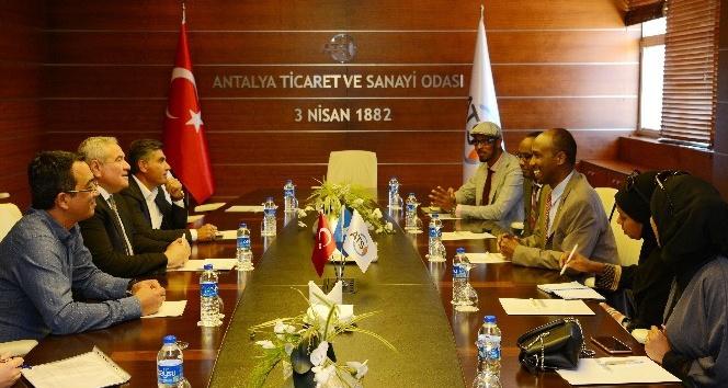 Antalya'dan Somali'ye ticaret köprüsü