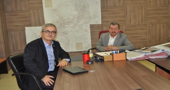 KARDEMİR Genel Müdürü Ünal'dan Vergili'ye ziyaret etti