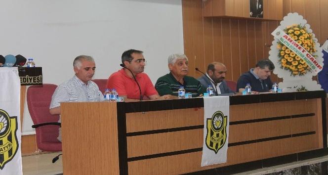 E.Yeni Malatyaspor'da Divan Kurulu'nun toplantısından birlik ve beraberlik mesajı