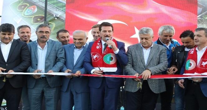İlkadım Belediyesi'nden Samsunspor'a alt yapı desteği