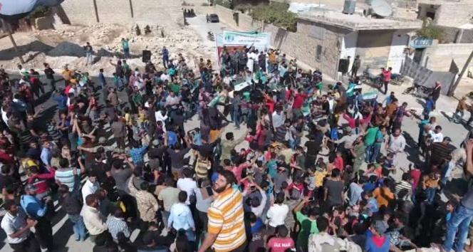 Halep halkı Deyr ez Zor katliamını kınadı