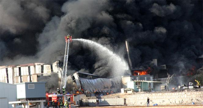 6 ayda aynı fabrikada ikinci yangın