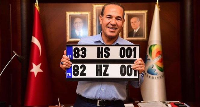 Bahçeli, '82 Kerkük, 83 Musul' dedi, MHP'li Belediye Başkanı plaka hazırladı