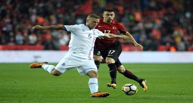 Dünya Kupası Grup Eleme: Türkiye: 0 - İzlanda: 3 (Maç devam ediyor)
