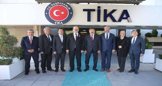TİKA Başkanı Çam'a Kazakistan'tan