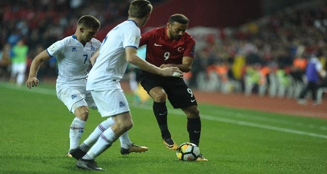 Dünya Kupası Eleme Grubu Maçı: Türkiye: 0 - İzlanda: 3 (Maç sonucu)