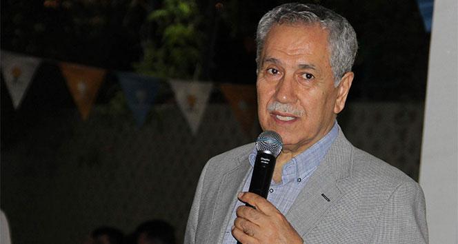 Arınç, AK Parti 26. İstişare Değerlendirme Toplantısına katılıyor