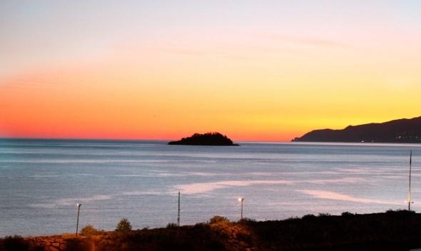 Güneş Karadeniz'e 'Aretias'tan doğuyor