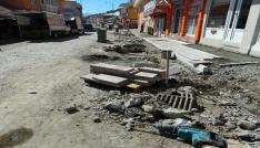 Posofta cadde ve kaldırımlar yeniden düzenleniyor