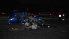 Mardinde trafik kazası: 2 ölü, 2 yaralı