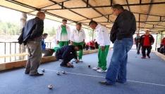 Yozgatta huzurevi sakinleri bocce turnuvasına katıldı
