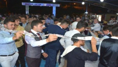 40 metrelik düğün takısı çifti şaşkına çevirdi