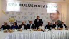 Karacan, Yozgatta STKların sorunlarını dinledi