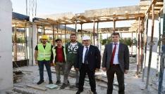 Taşköprü Şehirlerarası Otobüs Terminali inşaatı devam ediyor