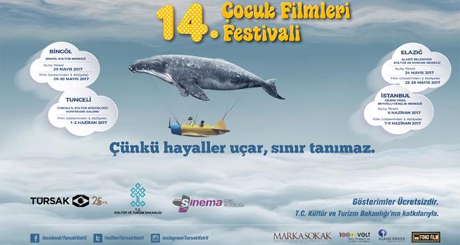 14'üncü Çocuk Filmleri Festivali başladı