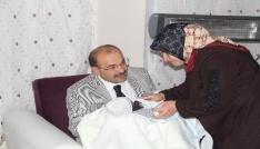 Vali Ustaoğlundan şehit ailesine ziyaret