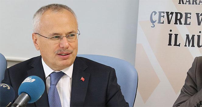 Bakan Yardımcısı Ceylan: Çevre yatırımları yapılmazsa en ağır cezayı uygularız