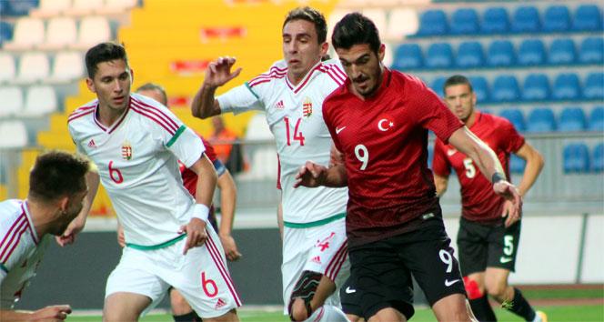 U21 Avrupa Şampiyonası: Türkiye: 0 - Macaristan: 0
