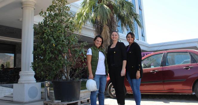 Aydın'da turizm sektörüne kadın eli değdi