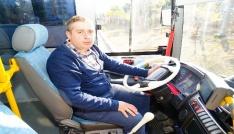 (Özel Haber) Otobüste fenalaşan kadını hastaneye yetiştiren şoför konuştu: