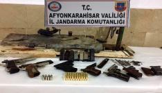 Silah imalathanesine jandarma baskını