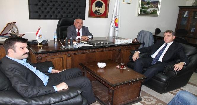 Tunceli TSOda Vali Yardımcıları istişarede bulundu