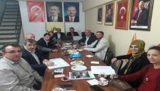 Dadayda AK Parti İlçe Yönetimi, ilk toplantısını gerçekleştirdi