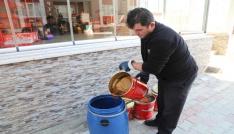 172 bin 820 litre bitkisel atık yağ toplandı