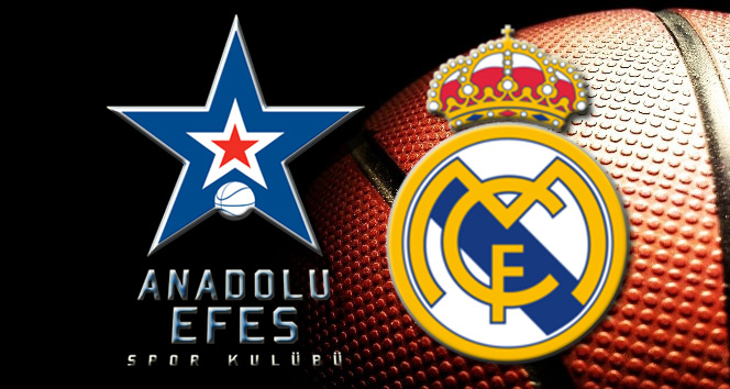 Anadolu Efes Real Madrid canlı skor, maç sonucu