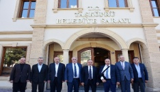 AK Parti Yerel Yönetimler Başkan Yardımcısı Geldiden Başkan Arslana ziyaret
