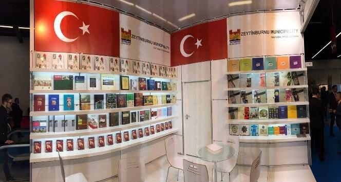 Dünyanın en önemli kitap fuarında ülkemizi temsil eden tek belediye