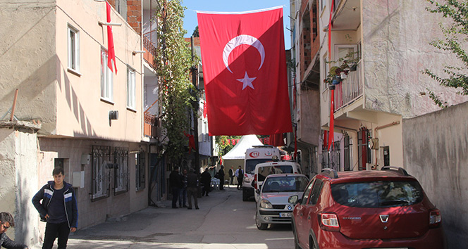 Şehit ateşi Bursa'ya düştü !