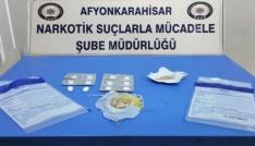 Dinarda polisten uyuşturucu operasyonu