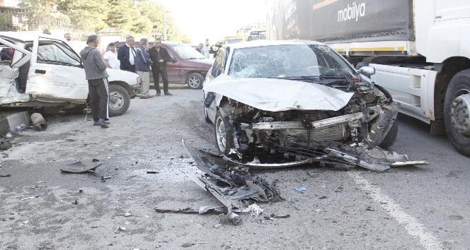 Çankırıda trafik kazası: 8 yaralı