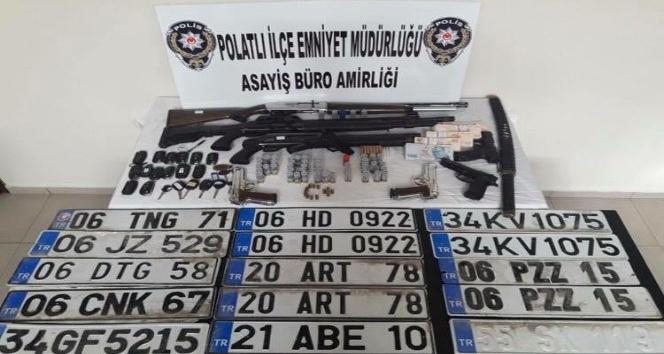 Ankara'da oto dolandırıcılarına operasyon: 15 kişi tutuklandı
