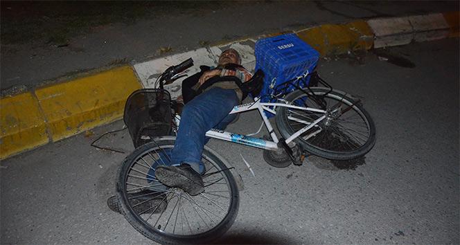 İşe gitmek için evden çıkan yaşlı adam, yolda baygın bulundu