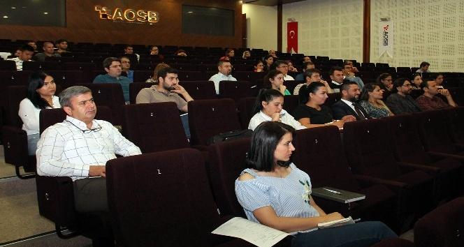 "AOSB Akademi'de ""Finans Muhasebe"" eğitimi"