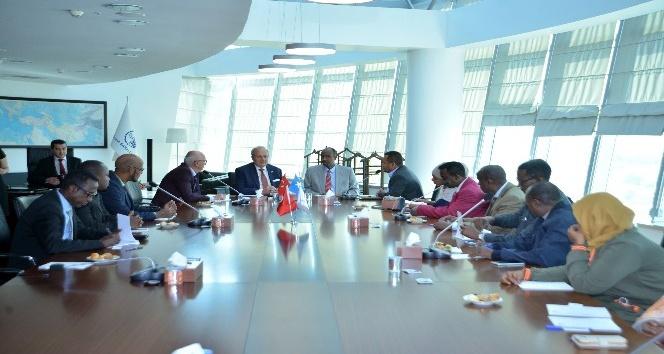Somali Bayındırlık Bakanı Abdi'den Türk yatırımcılara davet