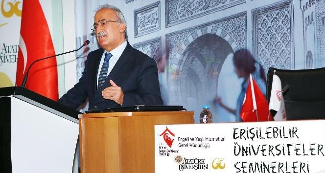 Atatürk Üniversitesi, erişilebilirlik için bir ilki gerçekleştirdi