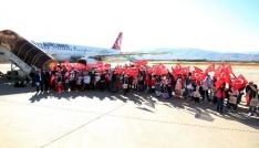 180 öğrenci Biz Anadoluyuz Projesi ile ilk kez uçağı bindi
