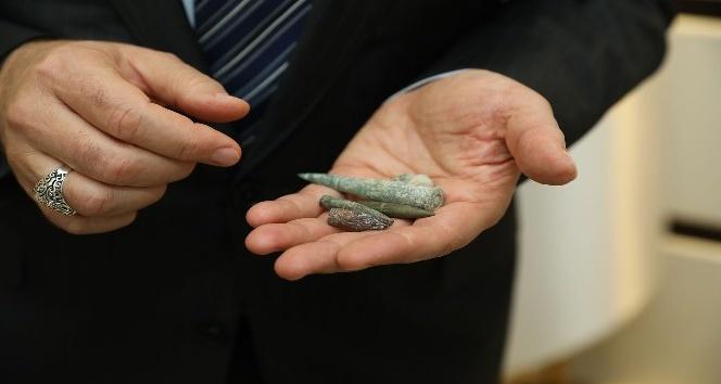 Çanakkale'den gelen hediyeler Başkan Tok'u duygulandırdı