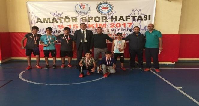 Van'da Amatör Spor Haftası etkinlikleri