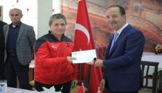 Edirne Belediyesinden amatör spora destek